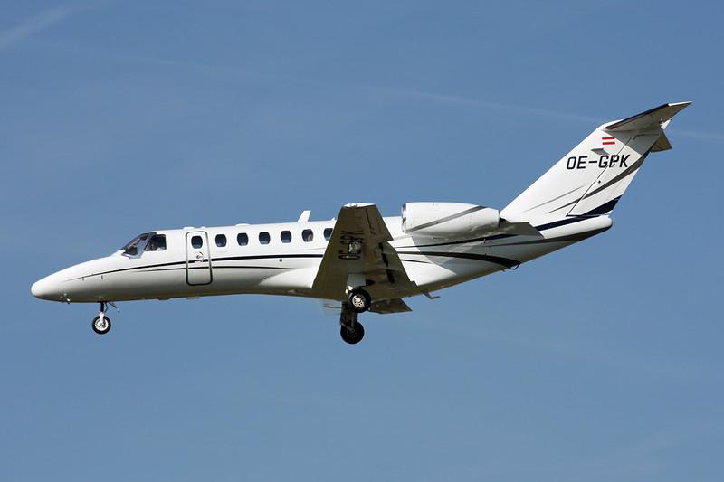 OE-GPK Cessna 525B Citation Jet 3 c/n 525B-0312 Paris-Le Bourget/LFPB/LBG 01-10-14