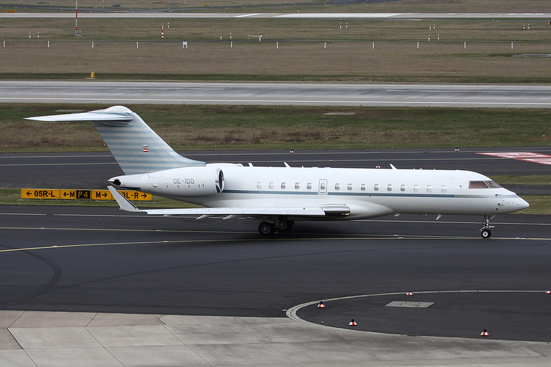 OE-IDO Bombardier Global Express XRS c/n 9280 Dusseldorf/EDDL/DUS 03-03-17