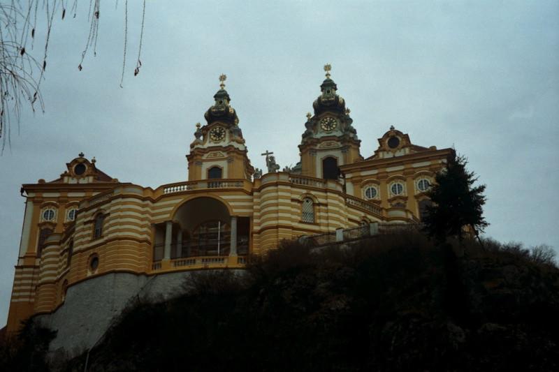 Monastery - Melk, Austria