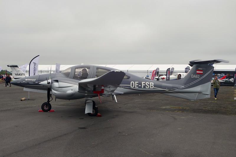 OE-FSB Diamond DA-62 c/n 62.007 Pontoise/LFPT/POX 03-06-16