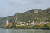 Durnstein from Danube