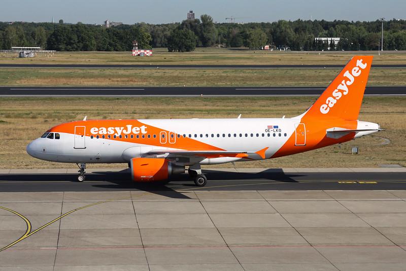 """OE-LKO Airbus A319-111 """"easyJet Europe"""" c/n 4069 Berlin-Tegel/EDDT/TXL 22-08-18"""