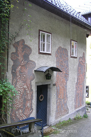 Hallstatt - House with Frescos