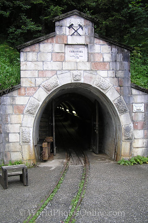 Hallstatt - Salt Mine - Entrance