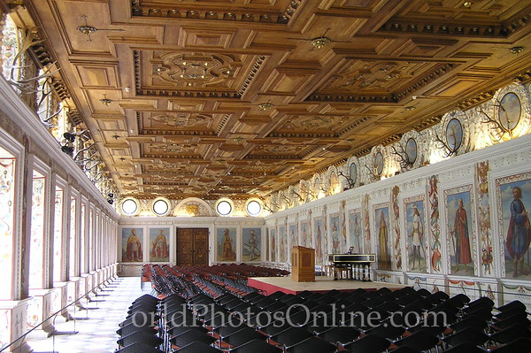 Innsbruck - Schloss Ambras - Spanish Hall