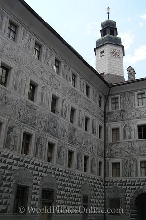 Innsbruck - Schloss Ambras - Inner Courtyard