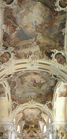 Innsbruck - Basilika Wilten - Ceiling