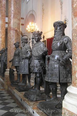Innsbruck - Hofkirche - Bronze Figures