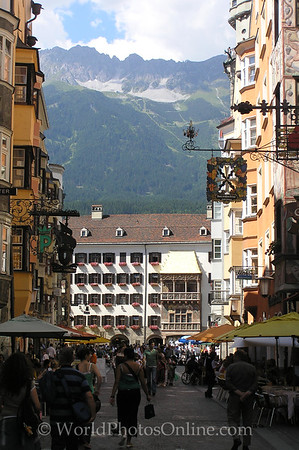 Innsbruck - Altstadt (old town center)