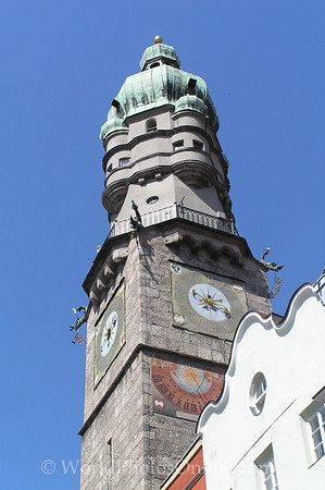 Innsbruck - Stadtturm (City Tower)