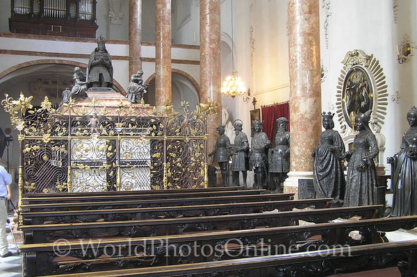 Innsbruck - Hofkirche - Maximilian I Sarcophagus