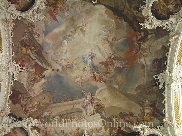 Innsbruck - Basilika Wilten - Ceiling Panel
