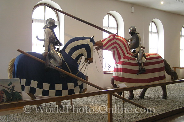 Innsbruck - Schloss Ambras - Armor Museum - Mounted Armor