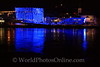 Linz - Danube at night 4