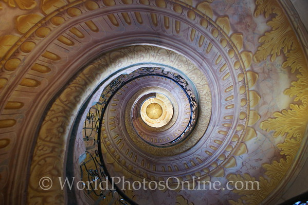 Melk - Benedictine Abbey - Spiral Stairs