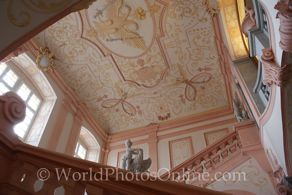 Melk - Benedictine Abbey - Imperial Stairs Ceiling