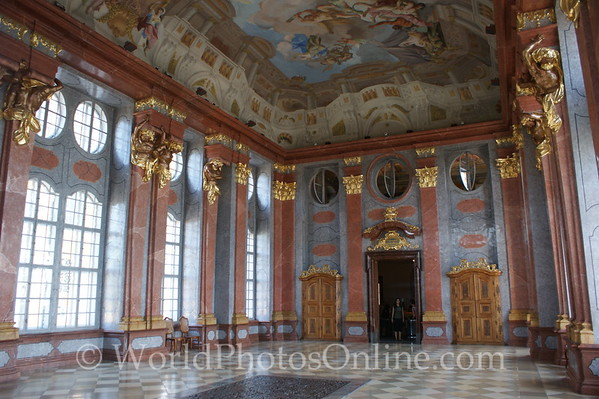 Melk - Benedictine Abbey - Marble Hall