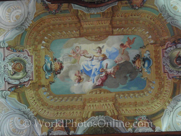 Melk - Benedictine Abbey - Second Library Ceiling