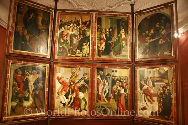 Melk - Benedictine Abbey Museum - Triptych - open