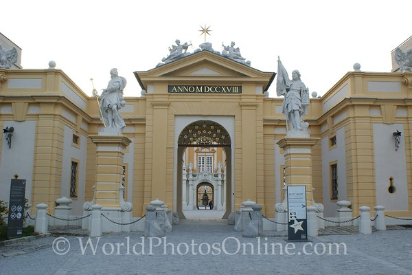 Melk - Benedictine Abbey - Entrance Gate