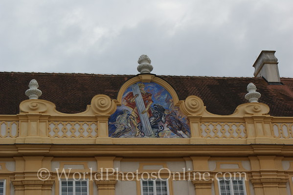 Melk - Benedictine Abbey - Prelates' Court - South Painting