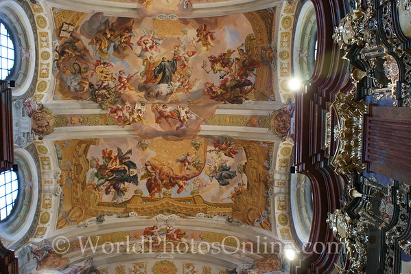 Melk - Benedictine Abbey Church - Ceiling