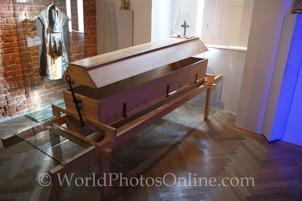 Melk - Benedictine Abbey Museum - Reusable Coffin