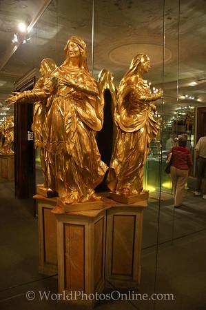 Melk - Benedictine Abbey Museum - Gilded Angel