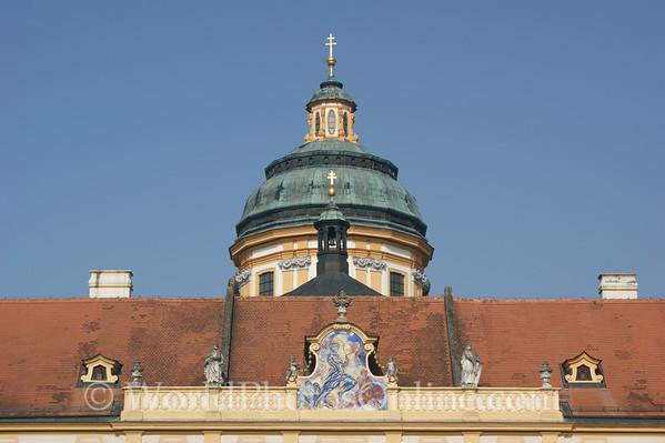 Melk - Benedictine Abbey - Prelates' Court  - West Painting
