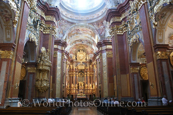 Melk - Benedictine Abbey Church 1