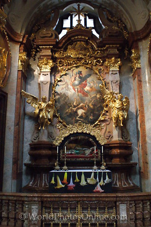 Melk - Benedictine Abbey Church - St Michael's Altar