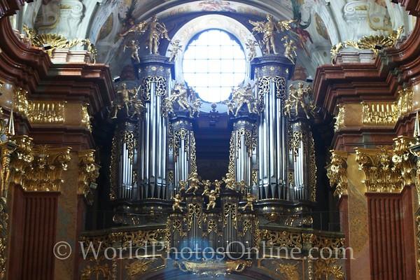 Melk - Benedictine Abbey Church - Pipe Organ 2