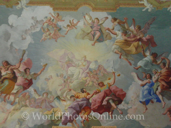 Melk - Benedictine Abbey - Library Ceiling