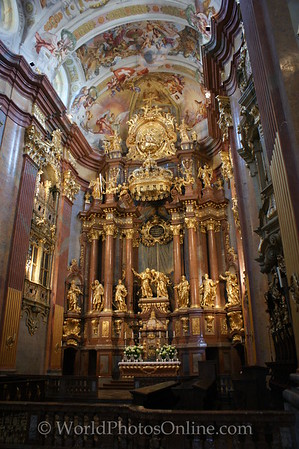 Melk - Benedictine Abbey Church - Main Altar