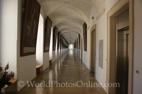 Melk - Benedictine Abbey -  Hall of Imperial Paintings