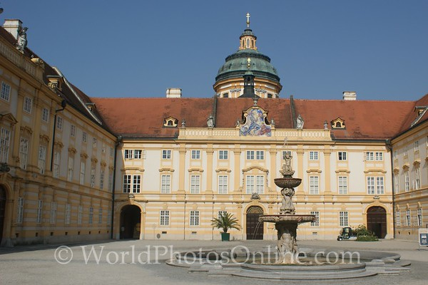 Melk - Benedictine Abbey - Prelates' Court