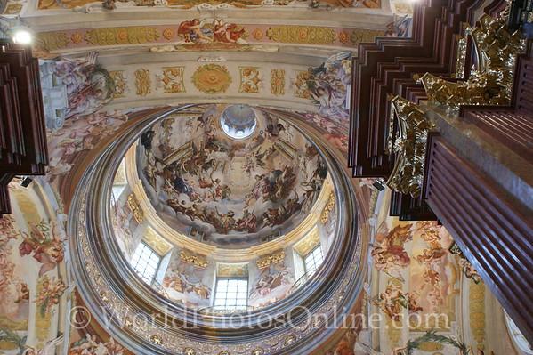 Melk - Benedictine Abbey Church - Dome