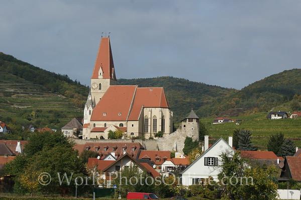 Danube - Church at Weibenkirchen