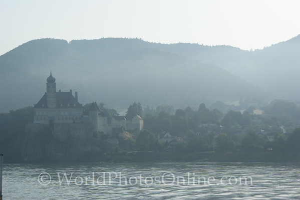 Danube - Emmersdorf - Morning on the Danube River