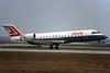 "OE-LRD Canadair Regional Jet 100LR ""Lauda Air"" c/n 7052 Frankfurt/EDDF/FRA 01-02-97 (35mm slide)"