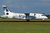 "OE-LKD Dornier Do.328-110 ""Air Alps Aviation"" c/n 3072 Amsterdam/EHAM/AMS 11-06-04 (35mm slide)"