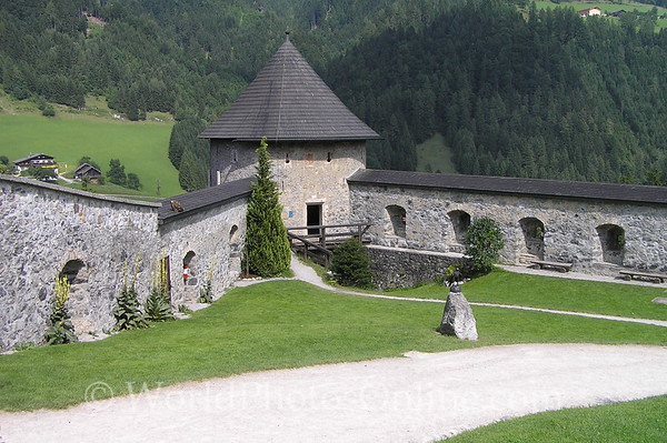 Outer Salzburg - Hohenwerfen Castle - 2nd Outwork of Castle