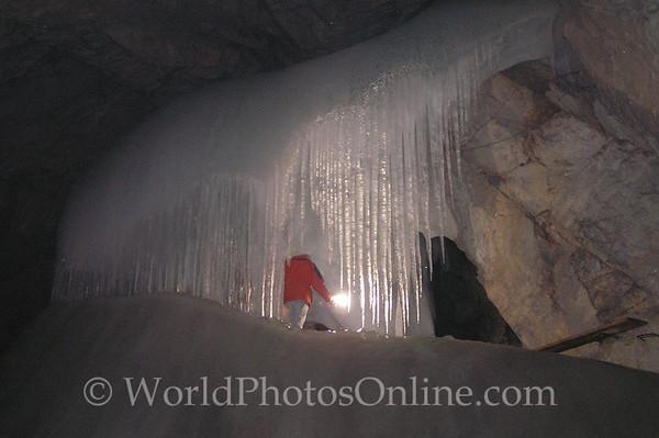 Outer Salzburg - Eisericsenwelt - Ice Cave - Waterfall