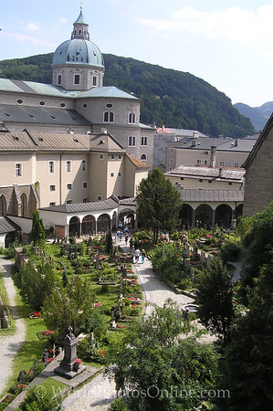 Salzburg - St Peter's Church - Cemetery 1