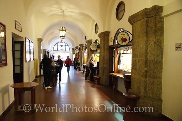 Salzburg - Augustiner Braustubl - Brewery, Beergarden, Church - Food Court
