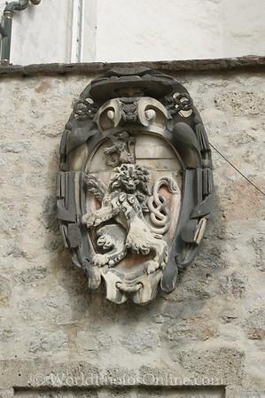 Salzburg - Hohensalzburg Castle - Coat of Arms