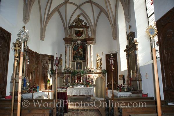 Salzburg - Hohensalzburg Castle - St  George's Chapel - Interior