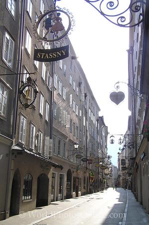 Salzburg - Griesgasse (Old Town Street)