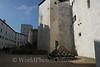 Salzburg - Hohensalzburg Castle - Inner Battlements & Cannon Balls