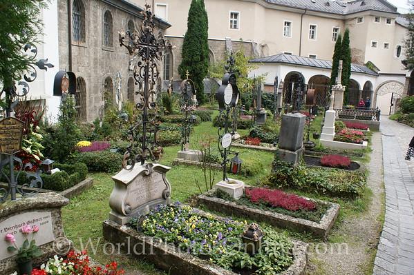 Salzburg - St Peter's Church - Cemetery 2
